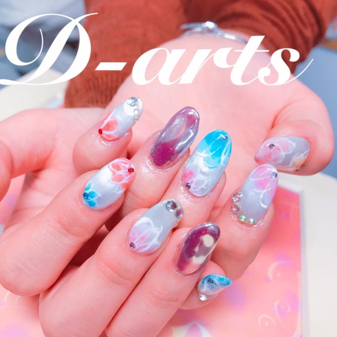 Sayuri Murataさんのネイルデザインの写真。テーマは『大宮ネイル、安い、ネイル、春ネイル』