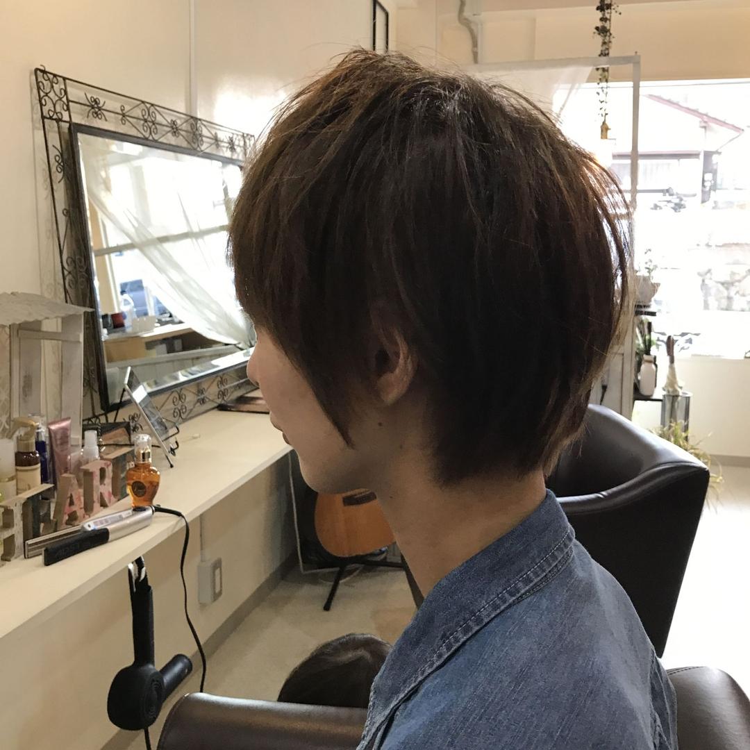 YUSUKE NAKAMURAさんのヘアスタイルの写真。テーマは『ショート、オトナかわいい、髪型、可愛い』