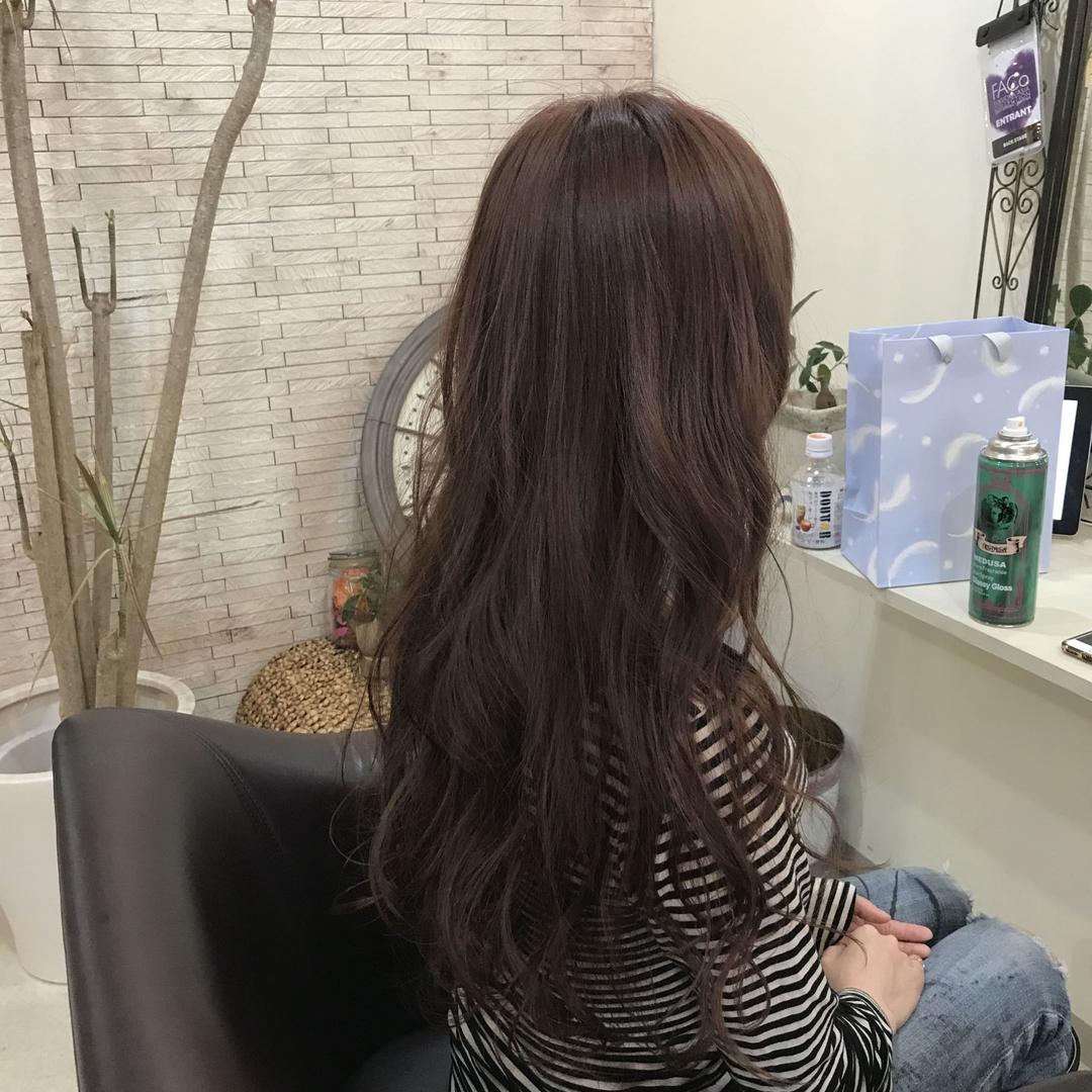 YUSUKE NAKAMURAさんのヘアスタイルの写真。テーマは『ロング、褒められ髪、大人かわいい、カワイイ、ピンク』