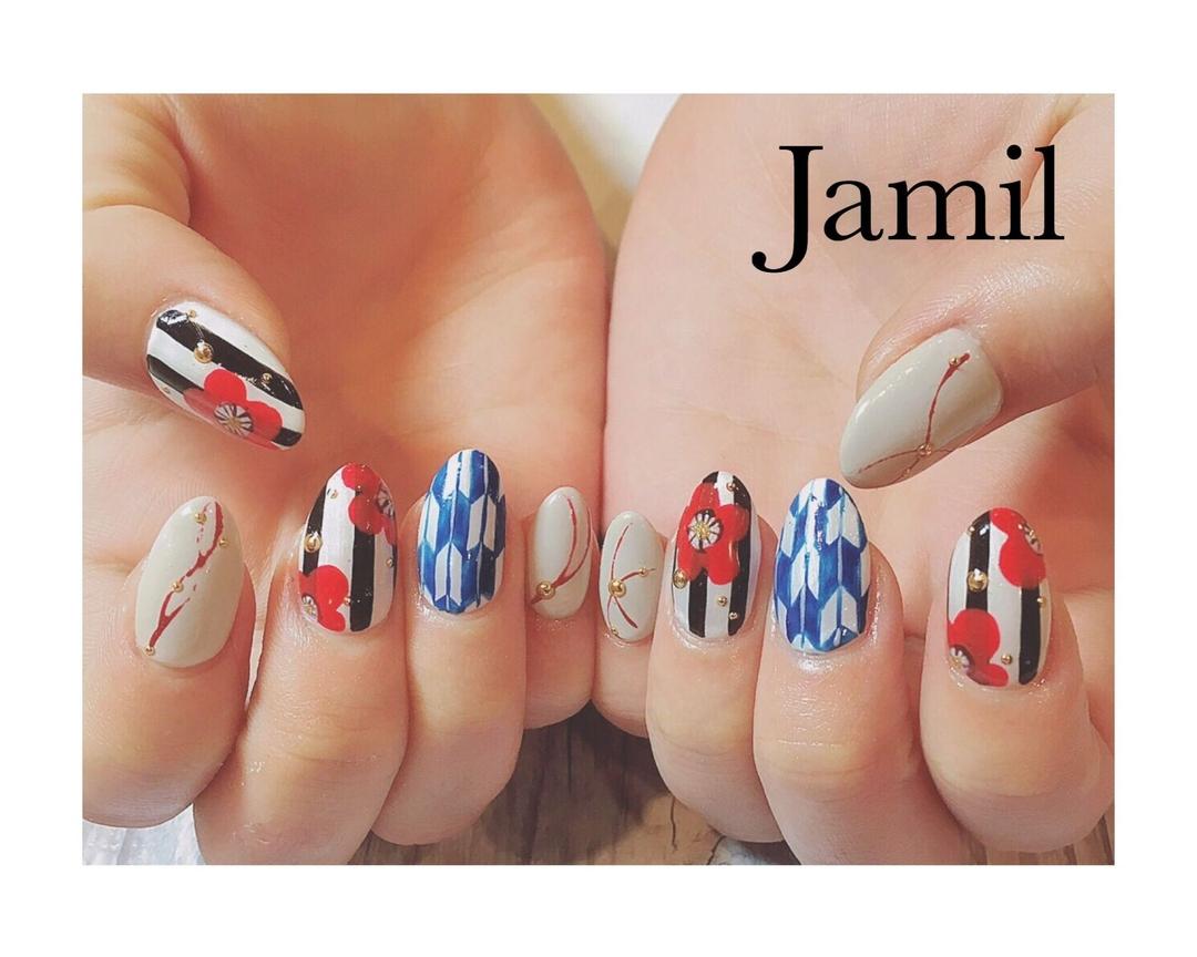 Jamilさんのネイルデザインの写真。テーマは『大阪、大阪ネイル、大阪ネイルサロン、大阪マツエク、堀江、堀江ネイル、堀江ネイルサロン、ネイル、ネイルサロン、ネイルアート、ネイルデザイン、ネイルサロン大阪、ネイル大阪、ファッションネイル、ファッション』