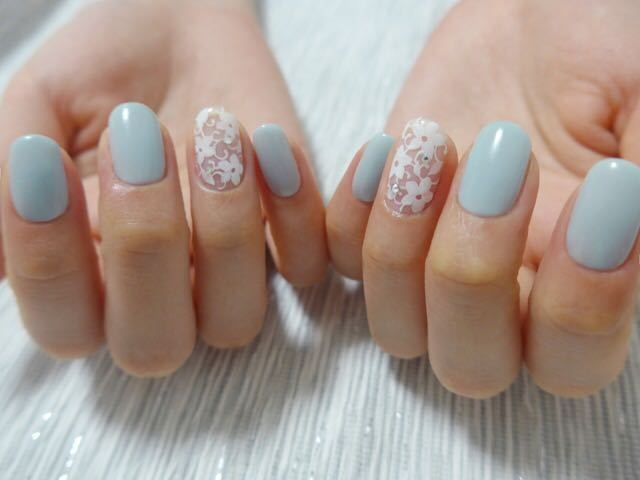 JUNOさんのネイルデザインの写真。テーマは『nail、nailart、gelnail