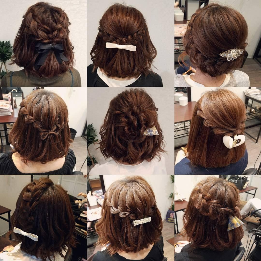 平原さんのヘアスタイルの写真。テーマは『宮崎市ヘアセット、