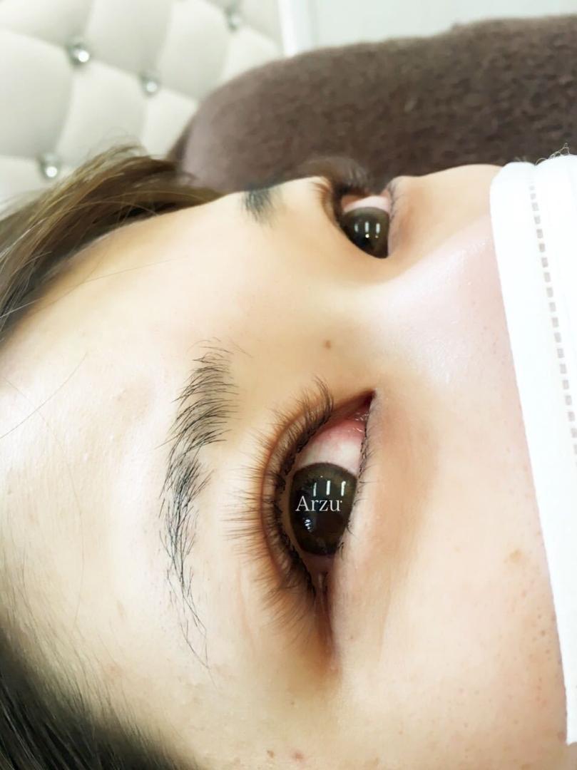 NOZOMIさんのまつげの写真。テーマは『ボリュームラッシュ、カラーエクステ』