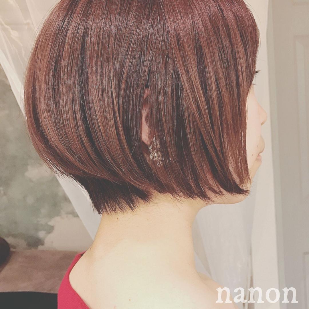 浦川 由起江さんのヘアスタイルの写真。テーマは『ショート』