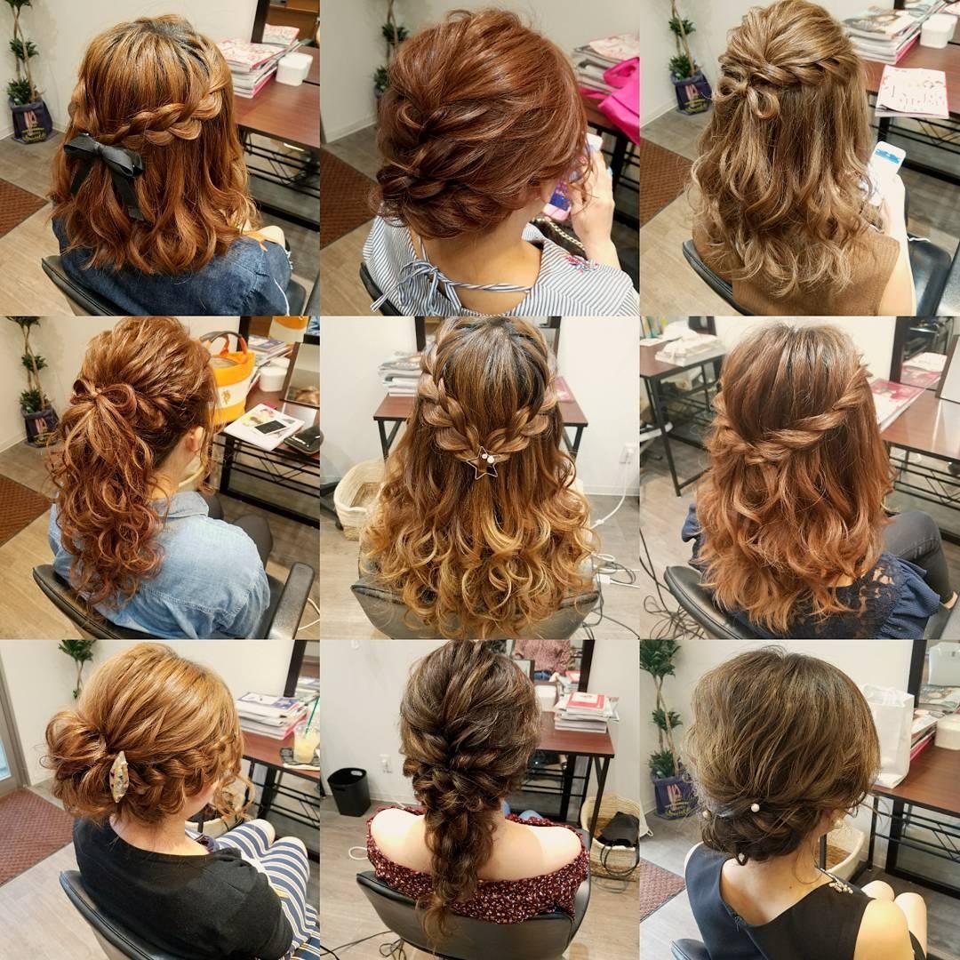 平原舞さんのヘアスタイルの写真。テーマは『宮崎市ヘアセット、宮崎市、ヘアセット専門店、セットサロン、ヘアセット、ヘアアレンジ、アップヘア、アレンジ、ねじりアレンジ、ブライダル、ブライダルヘア、結婚式、結婚式ヘアアレンジ、結婚式ヘア、およばれ、ねじり、ゆるアップ、アップ、hair、hairset、hairstyle、hairarrange、宮崎市STELLA、宮崎市セットサロン、宮崎、宮崎市美容室、宮崎美容室、宮崎市結婚式、ボブアレンジ、ポニーテール』