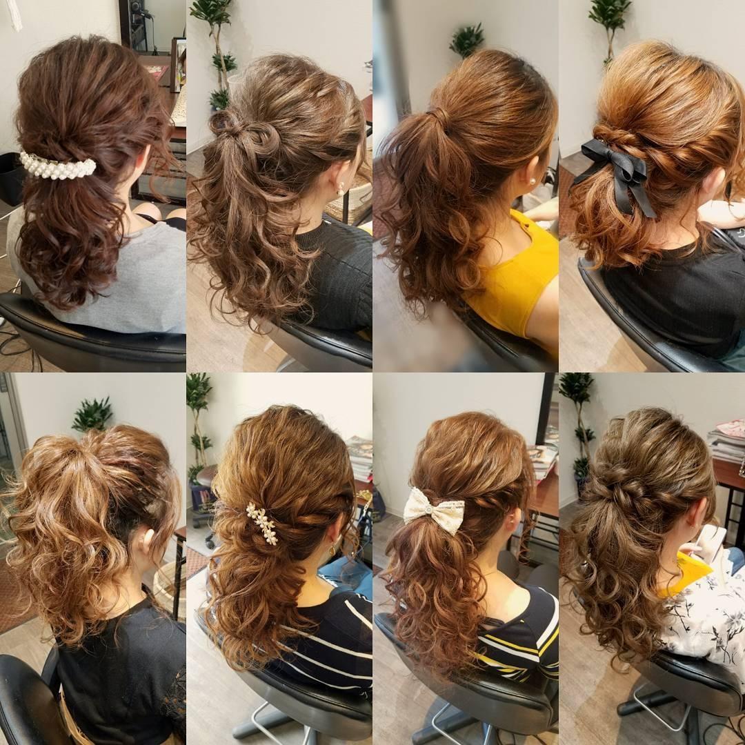 平原さんのヘアスタイルの写真。テーマは『宮崎市ヘアセット、宮崎市、ヘアセット専門店、セットサロン、ヘアセット、ヘアアレンジ、アップ、アップアレンジ、ポニーテールヘア、ブライダル、ブライダルヘア、結婚式、結婚式ヘアアレンジ、結婚式ヘア、およばれ、ポニーテール、ポニーテールアレンジ、宮崎、hair、hairset、hairstyle、hairarrange、宮崎県、宮崎市STELLA、宮崎市美容室、日本中の花嫁さんと繋がりたい、オシャレ、オシャレヘアー、アレンジ、アップヘア』
