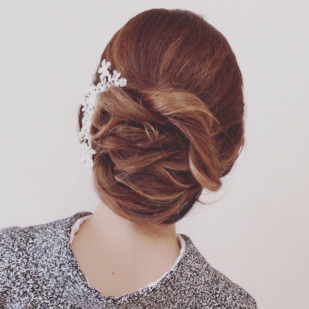 Moriyama  Mamiさんのヘアスタイルの写真。テーマは『大人可愛い、福岡ヘアセット、天神、ヘアアレンジ、ヘアーセット、中洲ヘアセット、ボディージュエリー福岡、Threekeys、スリーキーズ、着物、福岡ヘアサロン、ブライダル、結婚式、ブライダルヘアー、花嫁、着付け、着物ヘア、成人式、和装ヘア、プレ花嫁、ヘアセット専門、卒業式、浴衣レンタル、女子会、オトナ女子、着物レンタル、浴衣、働く女子』