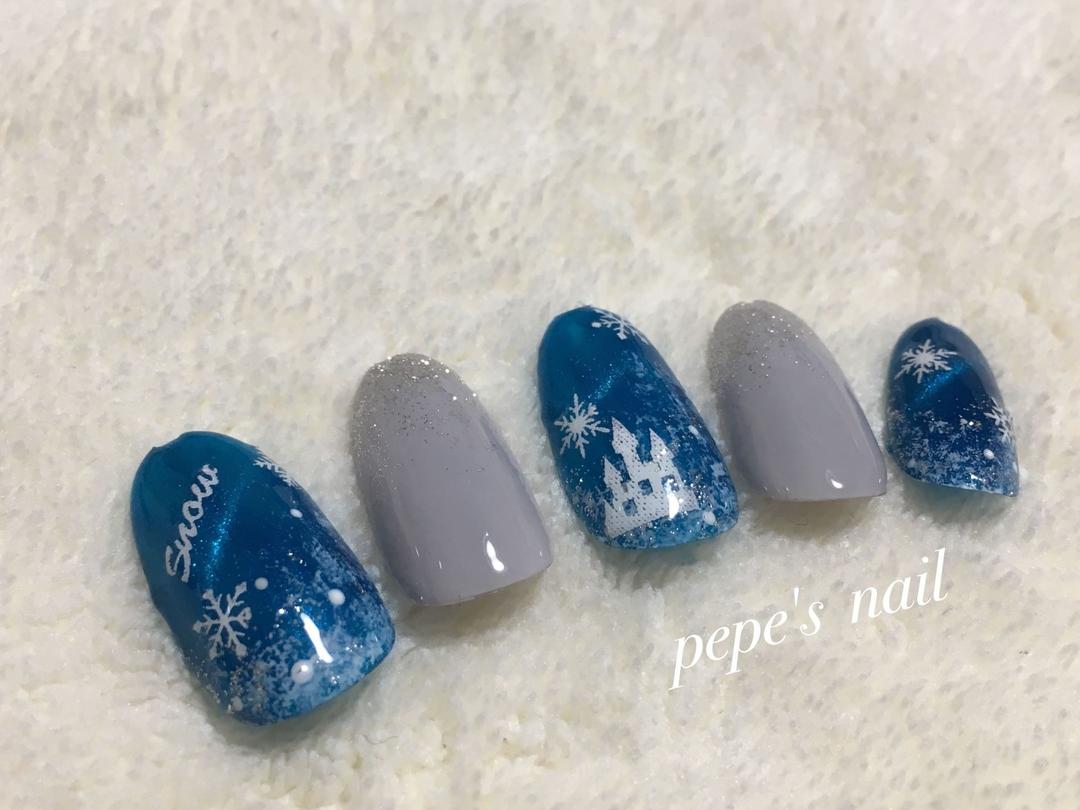 pepe's nailさんのネイルデザインの写真。テーマは『pepesnail、nail、nailart、nailstagram、gelnail、nails、sample、samples、nailsample、paragel、pregel、handnail、foot、ネイル、ネイルアート、きまぐれキャット、ハンドネイル、秋冬ネイル、クリスマスネイル、新作サンプル、サンプルチップ、キャッツアイ』