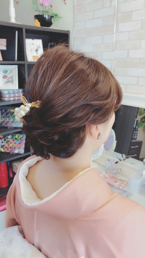 Moriyama Mamiさんのヘアスタイル 『結婚式ヘアセット ・#大 ...