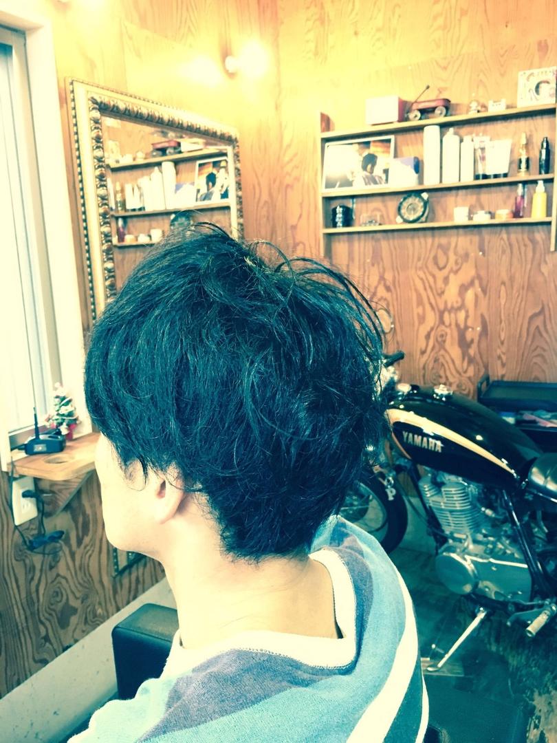 サブさんのヘアスタイルの写真。テーマは『メンズヘアスタイル』