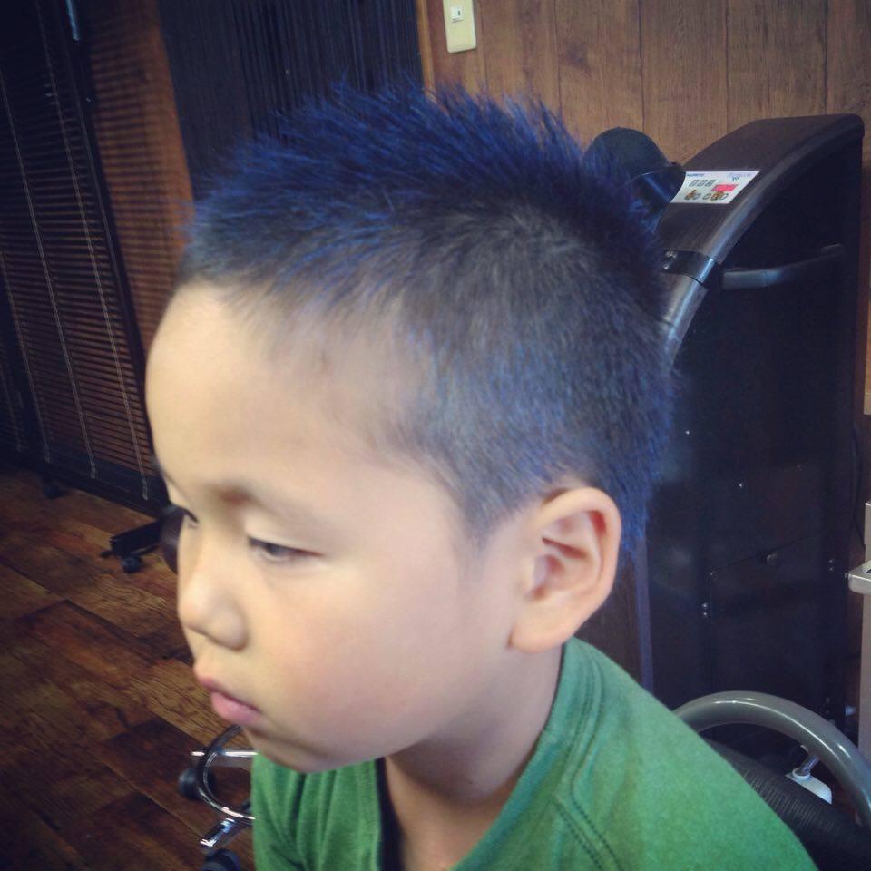 Inada Naotoさんのヘアスタイルの写真。テーマは『須賀川 、理容 、美容 、床屋 、キッズカット 、子どもカット 、カラーワックス 、月曜日営業』