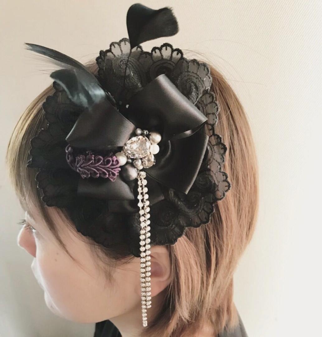 pepe's nailさんのネイルデザインの写真。テーマは『gracias、handmade、handmadeaccessory、accessory、handmadebymysister、スワロフスキー、パール、pearl、イヤリング、ピアス、ネックレス、リボン、necklace、手作り、こだわり素材、オリジナルアクセサリー、アクセサリー、片耳ピアス、片耳イヤリング、ヘッドドレス、ヘッドアクセ、美容師の方にも、おすすめです』
