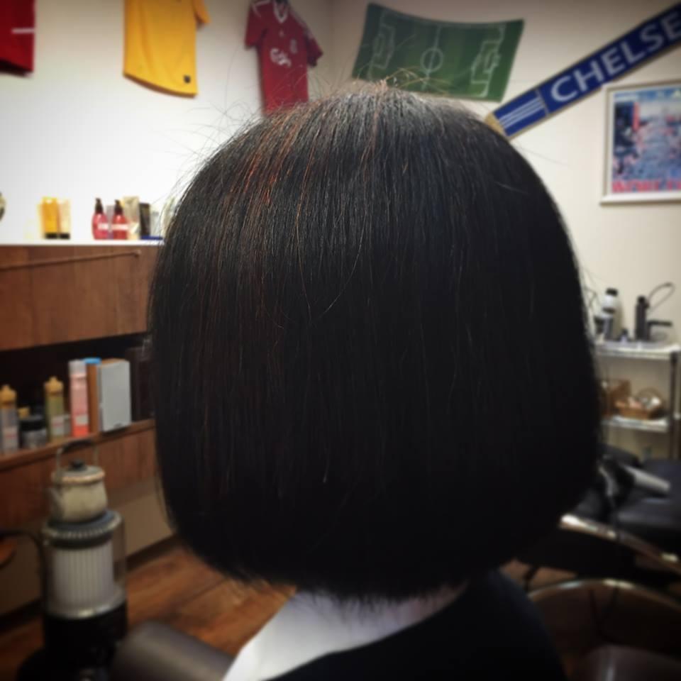 Inada Naotoさんのヘアスタイルの写真。テーマは『須賀川 、美容 、理容 、床屋 、ハナヘナ 、髪に優しいカラー』