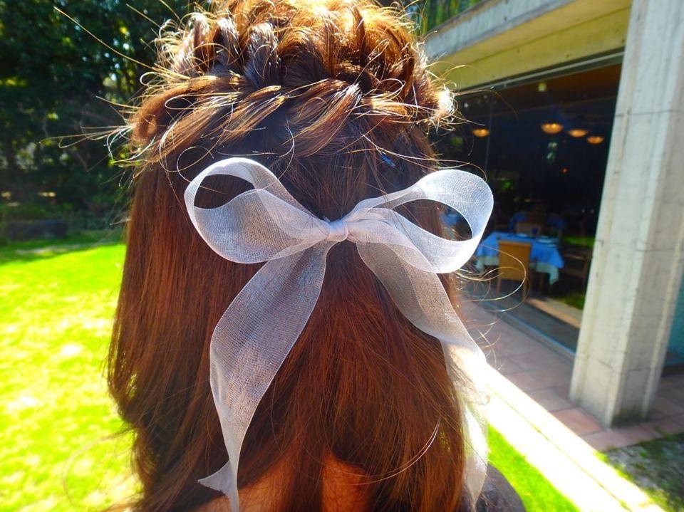 DAIKIさんのヘアスタイルの写真。テーマは『ゆるふわ、ラフ、ヘアアレンジ』