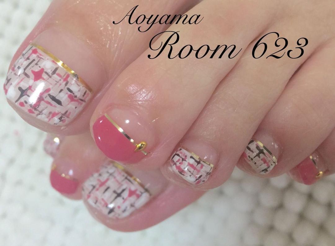 Aoyama Room623さんのネイルデザイン 『フットケア フットネイル 』 , tredina
