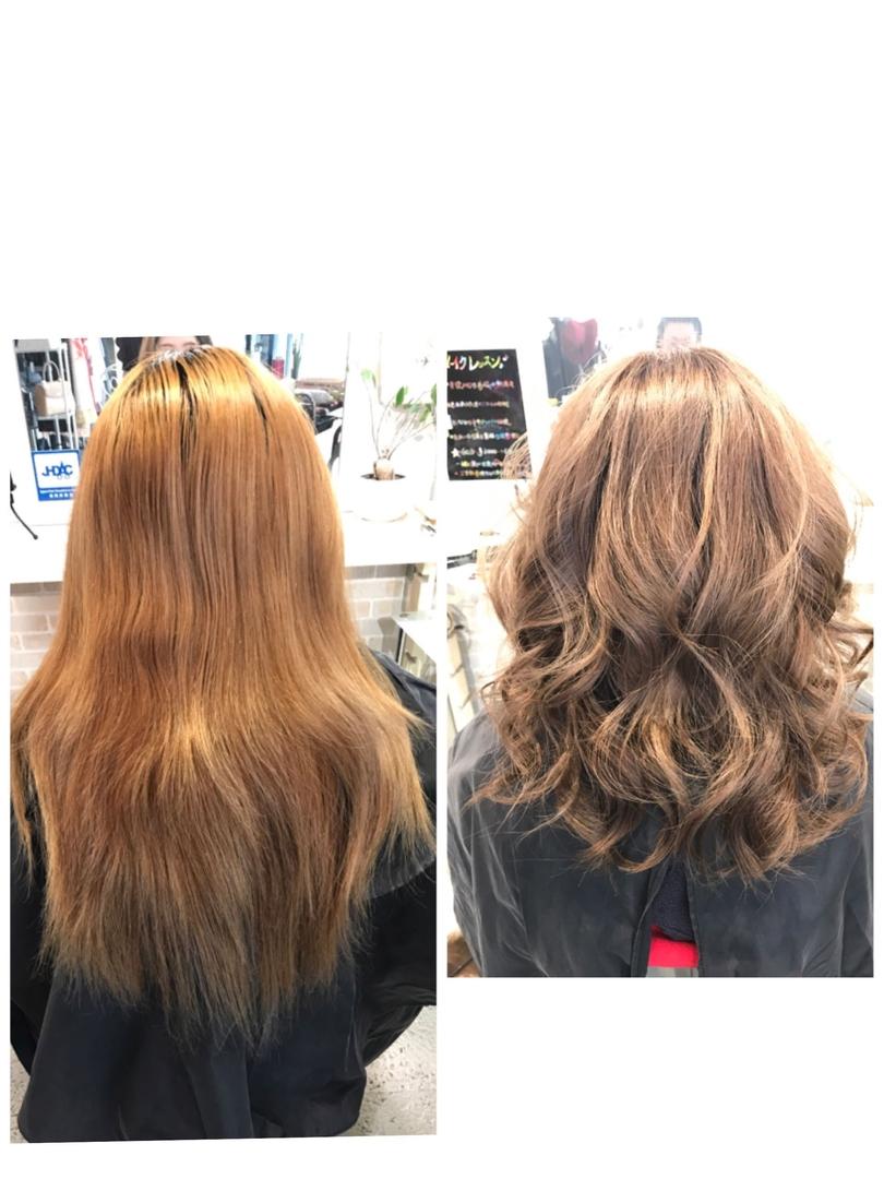 hair&make 8LAMIA8(ラミア)さんのヘアスタイルの写真。テーマは『広島、8LAMIA8、ラミア、ヘアカラー、カット、ミディアム、JHSS広島校、24時まで営業、カラー、パーマ、、縮毛矯正、エクステ、ヘアセット、増毛エクステ、メイクレッスン、ネイル、着付け、衣類、装飾品販売!』