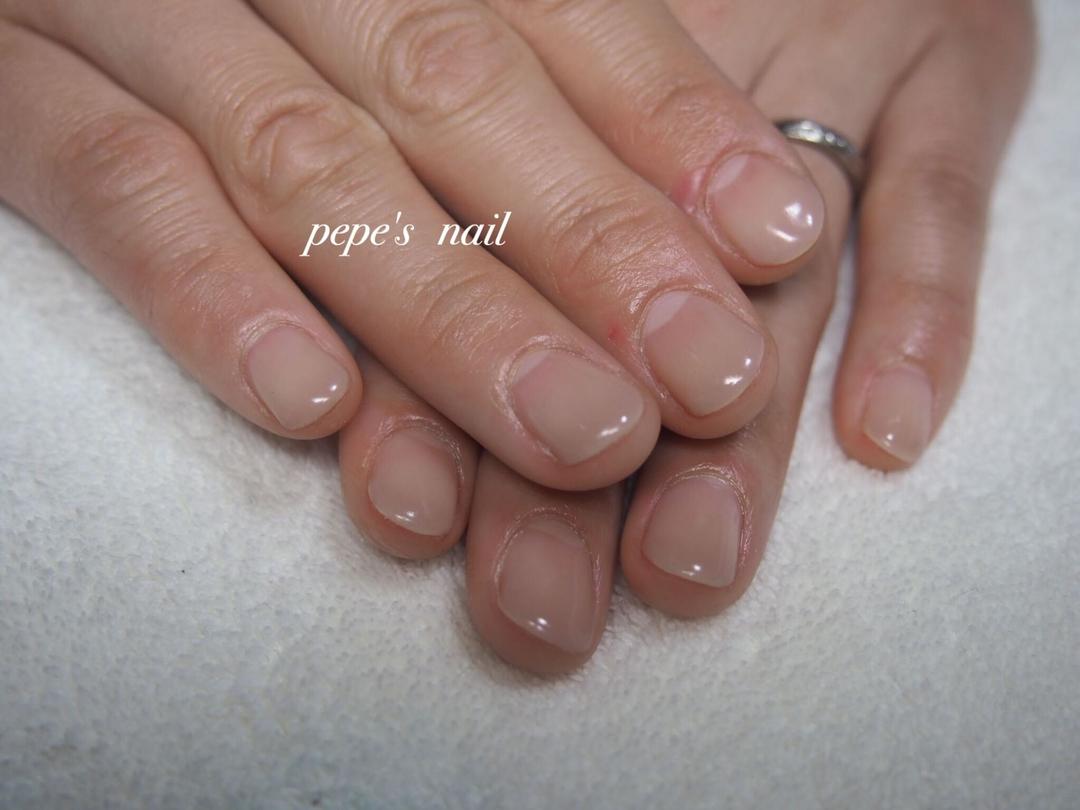 pepe's nailさんのネイルデザインの写真。テーマは『pepesnail、nail、nailart、nailstagram、gelnail、nails、paragel、pregel、handnail、ネイル、ネイルアート、ハンドネイル、春ネイル、シンプルネイル、オフィスネイル、自宅ネイル、大分市』