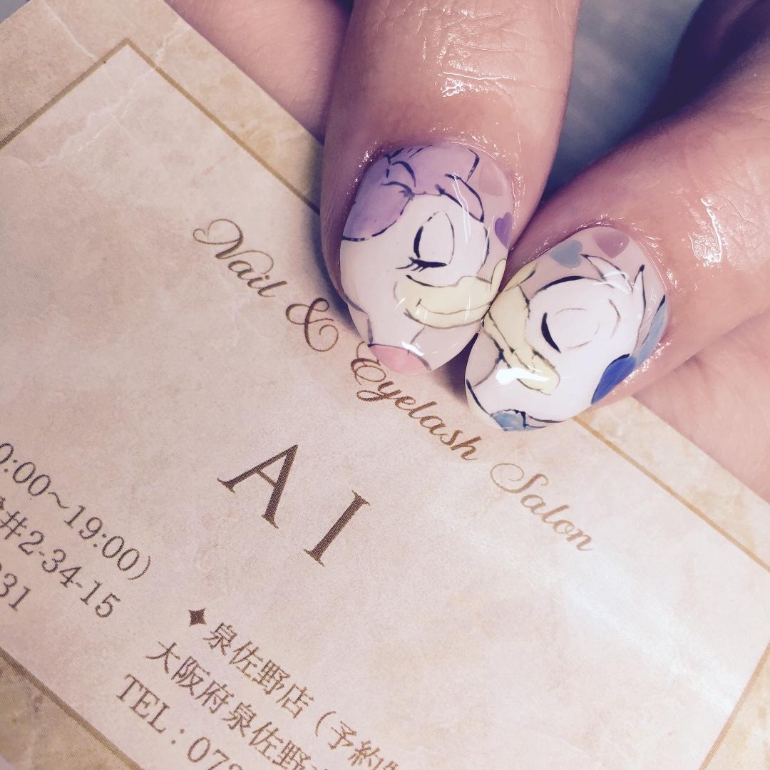 Nail&Eyelash salon AIさんのネイルデザインの写真。テーマは『キャラクター、要相談』