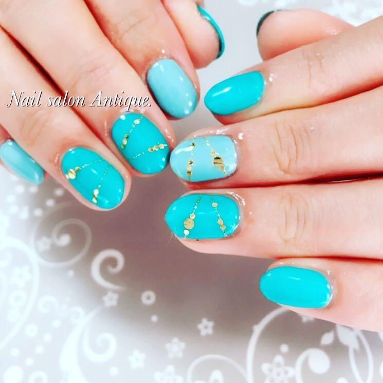 nailsalon Antiqueさんのネイルデザインの写真。テーマは『春ネイル、アクセサリー、新宿、代々木、代々木ネイル、プライベートサロン、ネイル、ジェル、nail、jel、nailstgram、美甲、gelnails、nailart、ジェルネイル、nails、naildesign』
