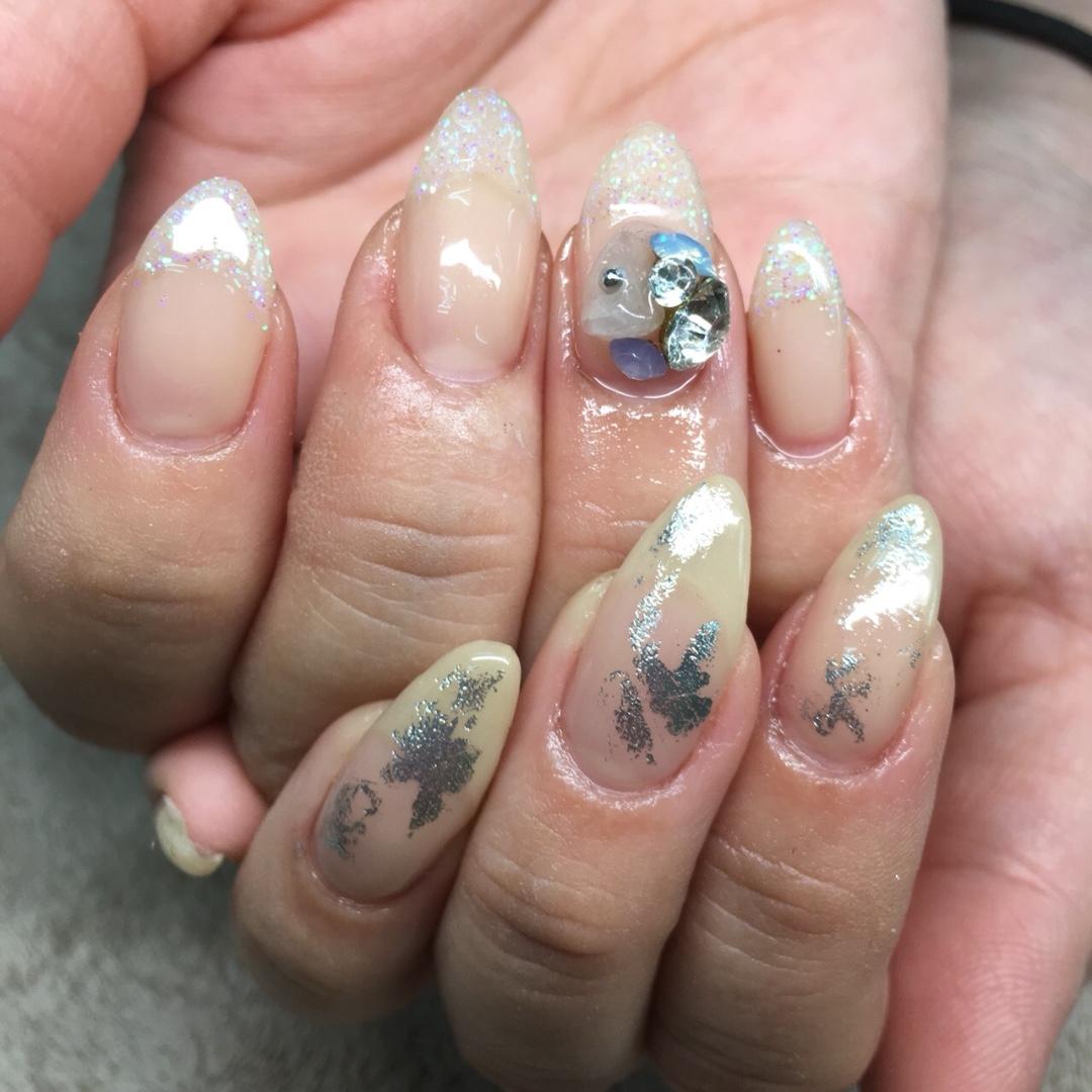 Nail&Eyelash salon AIさんのネイルデザインの写真。テーマは『夏感じるネイルー☆、女子はキラキラが好き、泉南市マツエク、泉南市ネイルサロン、樽井、ネイルサロンAI、マツエク、Eyelash、シアーカラーネイル、ネイリストと繋がりたい、もりもりネイル、ネイルすきな人と繋がりたい、夏ネイル2018、ピンクネイル、タイダイネイル、ネイルアート、フット3500円、ネイリスト、アイリスト、爪育、マツ育、美爪、オシャレさんと繋がりたい、阪南市ネイルサロン、like4like、阪南市マツエク、泉佐野マツエク、NailandEyelashSalonAI』