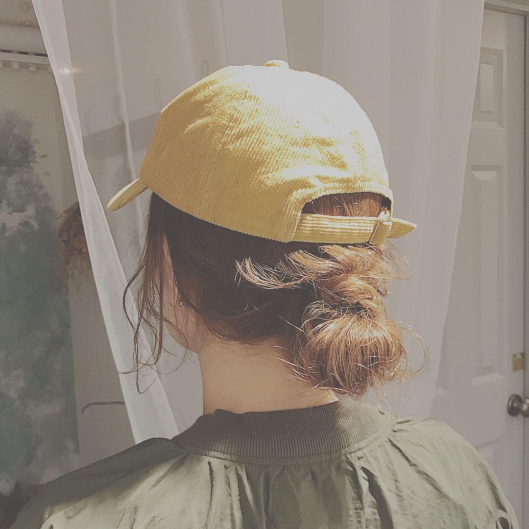 浦川 由起江さんのヘアスタイルの写真。テーマは『簡単ヘアアレンジ、キャップヘアアレンジ、ヘアアレンジ』