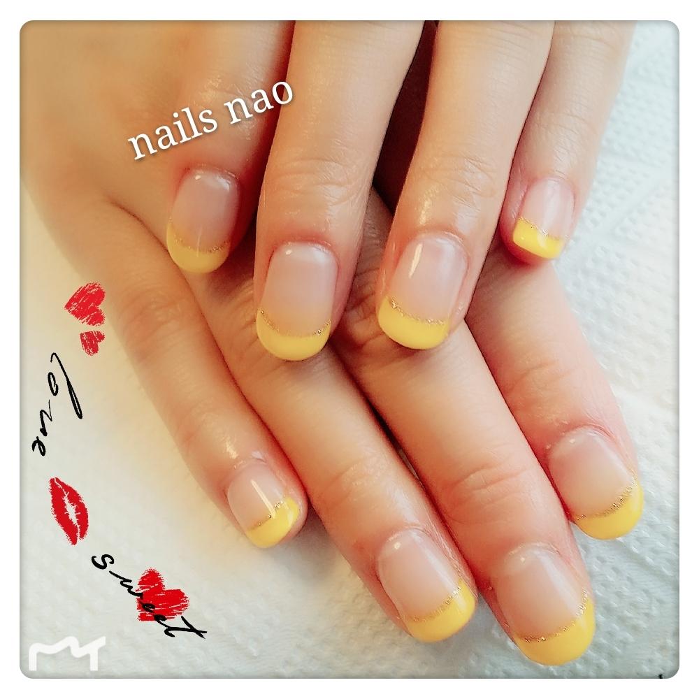 nails naoさんのネイルデザインの写真。テーマは『フレンチネイル』