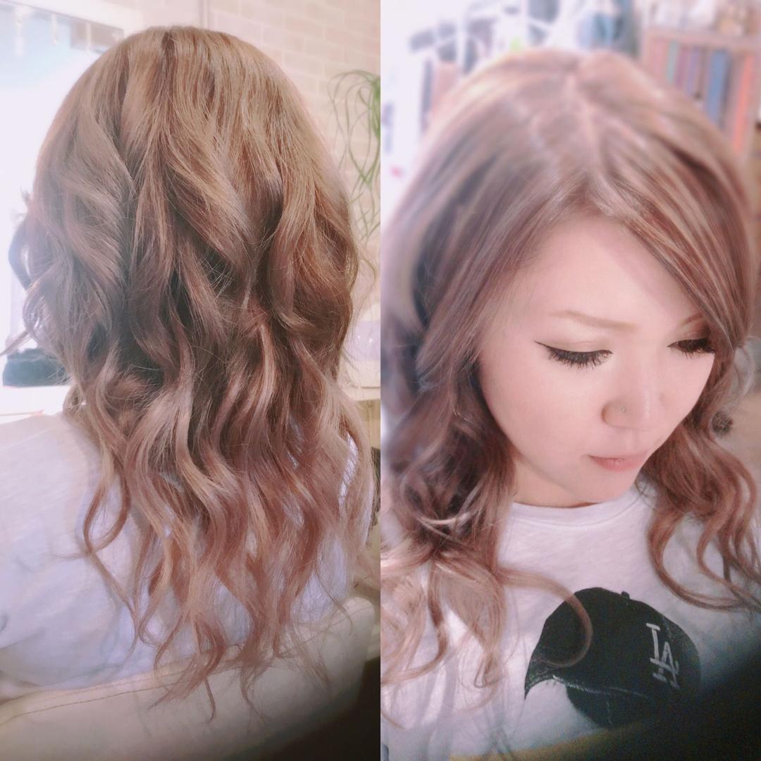hair&make 8LAMIA8(ラミア)さんのヘアスタイルの写真。テーマは『広島、8LAMIA8、エクステ、グラデーション、JHSS広島校、24時まで営業、カット、カラー、パーマ、、縮毛矯正、ヘアセット、増毛エクステ、メイクレッスン、ネイル、着付け、衣類、装飾品販売!』