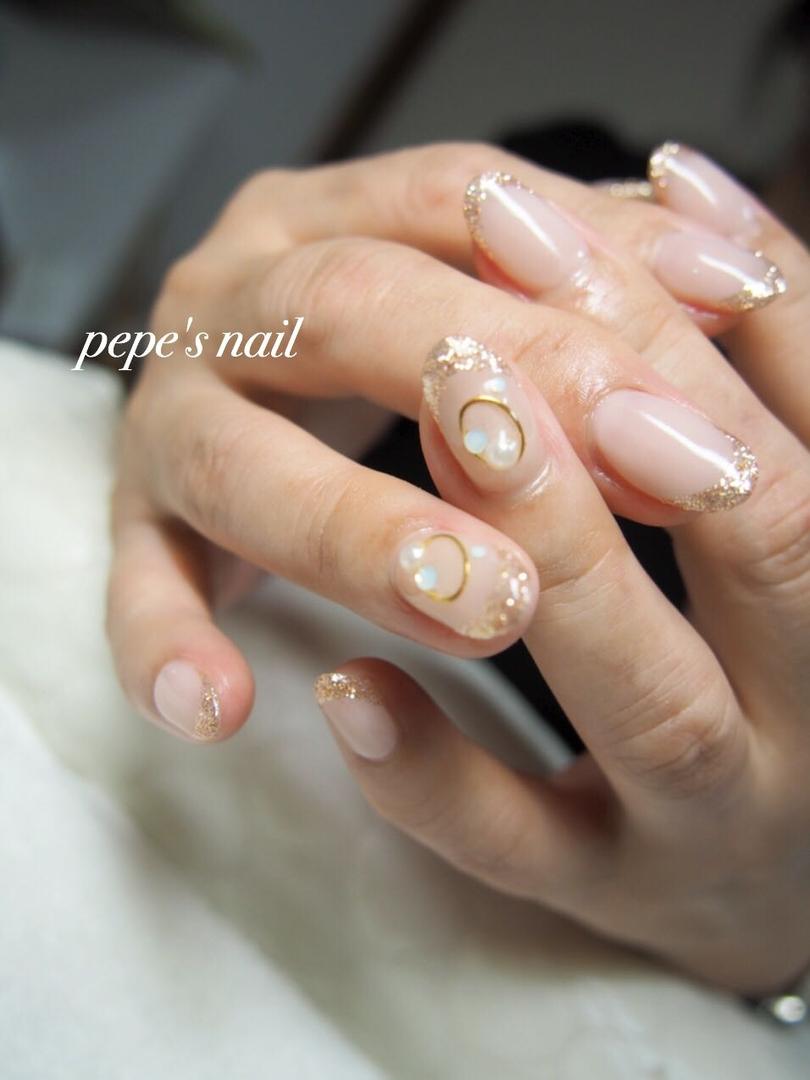 pepe's nailさんのネイルデザインの写真。テーマは『pepesnail、nail、nailart、nailstagram、gelnail、nails、paragel、pregel、vetro、bellaforma、handnail、ネイル、ネイルアート、ワンカラー、フレンチ、上品アート、ハンドネイル、自宅ネイル、大分市』