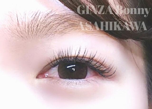 GINZA Bonny旭川店さんのネイルデザインの写真。テーマは『まつ毛エクステ、まつエクデザイン、まつげ、eyelash、マツエク、旭川マツエク、ジェルネイル、ネイル、nail、nailart』