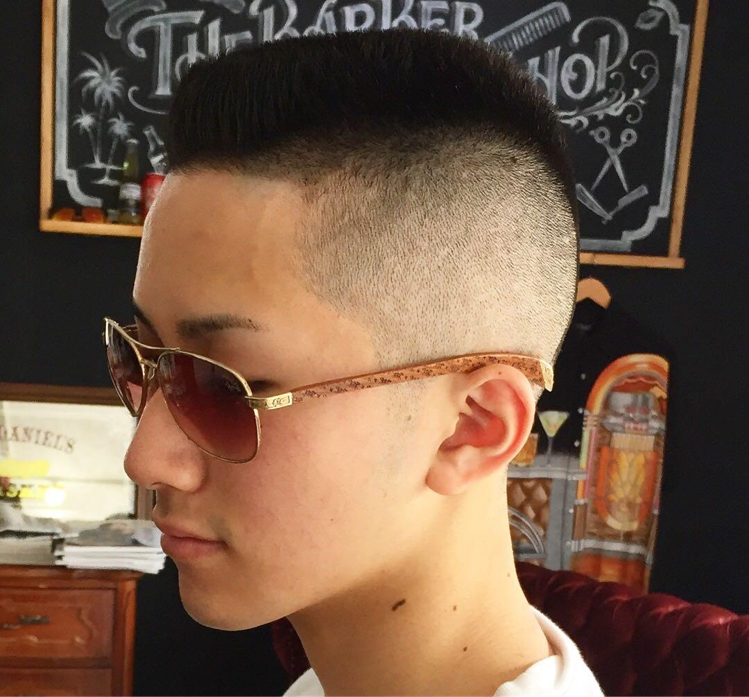 バーバースピークイージーさんのヘアスタイルの写真。テーマは『金沢市スキンフェードスピークイージー、金沢駅近くバーバーショップスピークイージー、金沢バーバースピークイージー、金沢フェードスピークイージー、金沢市バーバーショップスピークイージー』
