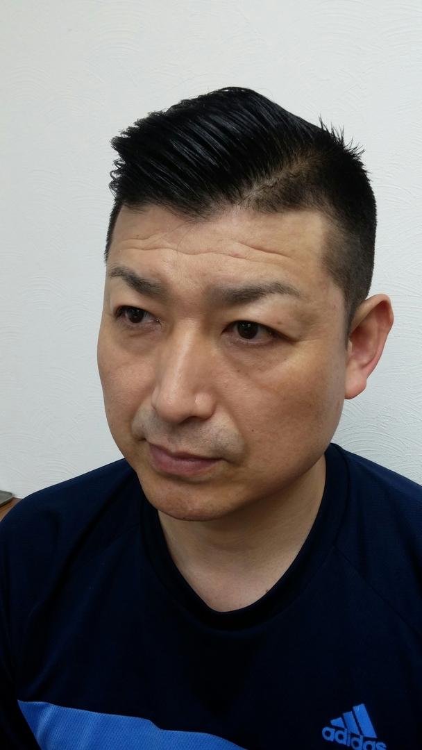 ゴーさんのヘアスタイルの写真。テーマは『大人 、クリスティアーノ・ロナウド髪型』