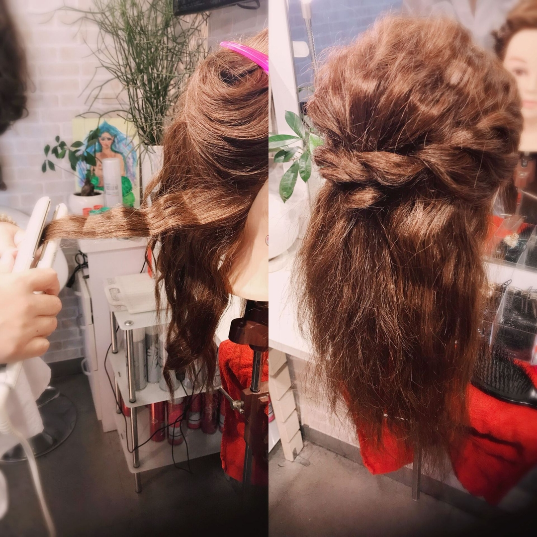 hair&make 8LAMIA8(ラミア)さんのヘアスタイルの写真。テーマは『JHSS広島校、中国地方唯一、広島、ヘアメイク、ヘアセット、ヘアエクステ、メイク、着付け、ネイル、ヘアメイクスクール』