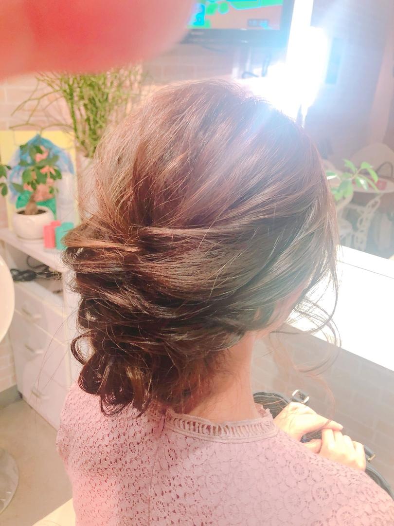 hair&make 8LAMIA8(ラミア)さんのヘアスタイルの写真。テーマは『広島、8LAMIA8、ヘアカラー、ヘアエクステ、浴衣ヘアセット、浴衣着付け、ネイル、メイク、編み込みエクステ、シールエクステ、編み込みアップ、お直しメイク、JHSS広島校、24時まで営業、カット、カラー、パーマ、、縮毛矯正、エクステ、ヘアセット、増毛エクステ、メイクレッスン、着付け、衣類、装飾品販売!』