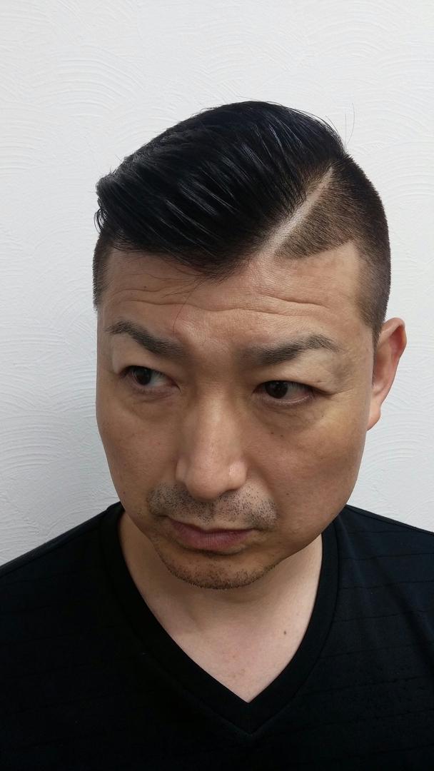 ゴーさんのヘアスタイルの写真。テーマは『クリスティアーノ・ロナウド髪型』
