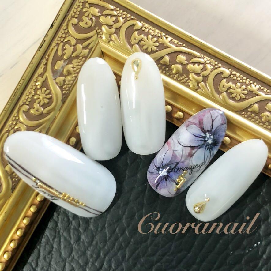 Cuoranailさんのネイルデザインの写真。
