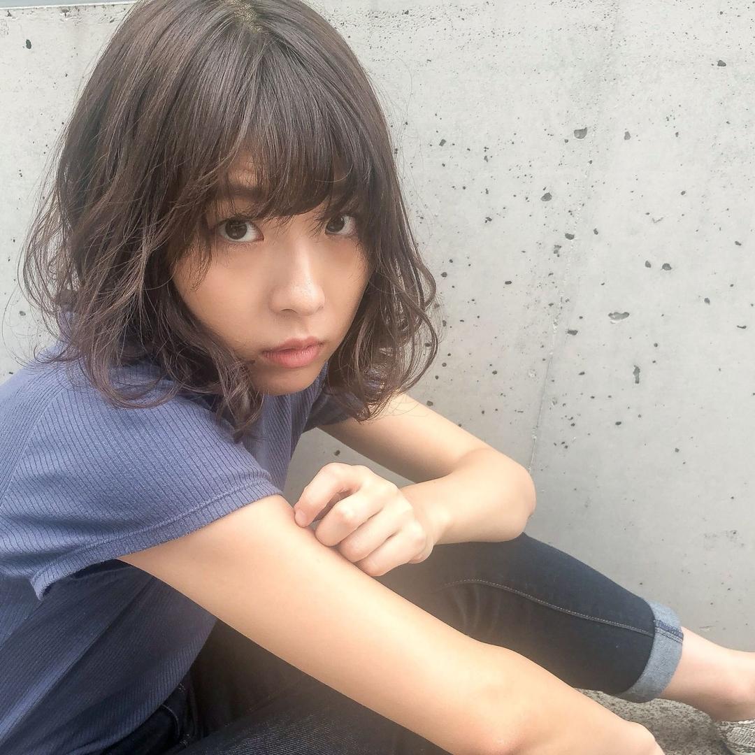 kana_sさんのヘアスタイルの写真。テーマは『hairstyle、haircolor、ボブ、ミディアム、黒髪、暗髪、たまプラーザ、二子玉川、美容室、サロンモデル、撮影、撮影モデル』