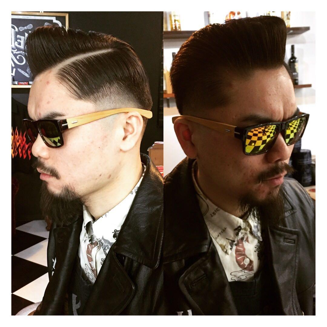 バーバースピークイージーさんのヘアスタイルの写真。テーマは『金沢市、金沢バーバー、金沢駅周辺、金沢市理容室、金沢市床屋、金沢市メンズカット、金沢市フェードカット、金沢市バーバースタイル、金沢市夜遅くまで営業、金沢市barber、金沢市barbershop、金沢バーバースタイル、金沢市バーバーショップスピークイージー、金沢市ポマード、金沢市バーバーショップ、金沢市スキンフェード、野々市スキンフェード、小松市スキンフェード、白山市スキンフェード』