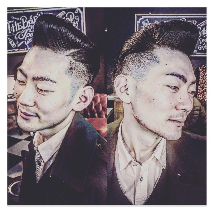 バーバースピークイージーさんのヘアスタイルの写真。テーマは『金沢市、ポマード」「、メンズカット」のことは、金沢駅近く、金沢バーバー、金沢駅周辺、金沢市理容室、金沢市床屋、金沢市メンズカット、金沢市フェードカット、金沢市バーバースタイル、金沢市夜遅くまで営業、金沢市barber、金沢市barbershop、金沢バーバースタイル、金沢市バーバーショップスピークイージー、金沢市ポマード、金沢市バーバーショップ、金沢市スキンフェード、野々市スキンフェード、小松市スキンフェード、白山市スキンフェード、北陸バーバースタイル、北陸スキンフェードスタイル』