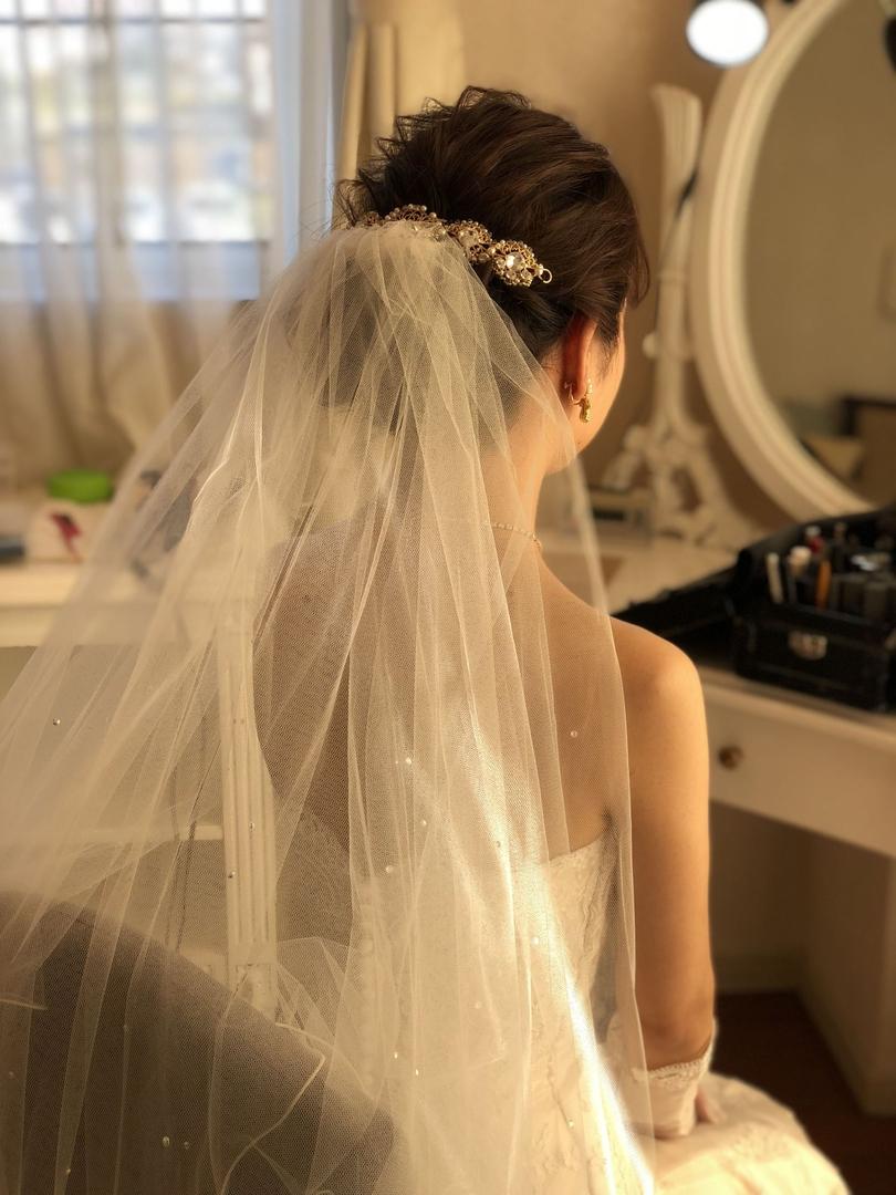 平原さんのヘアスタイルの写真。テーマは『宮崎市ヘアセット、宮崎市、ヘアセット専門店、セットサロン、ヘアセット、ヘアアレンジ、白ドレス、挙式ヘア、アップヘア、宮崎ウェディング、ブライダルヘア、結婚式、結婚式ヘアアレンジ、結婚式ヘア、ウェディングドレス、アップスタイル、結婚式髪型、宮崎、hair、hairset、hairstyle、hairarrange、宮崎県、宮崎市STELLA、宮崎市ステラ、宮崎市セット、挙式スタイル、アレンジヘア、挙式ヘアスタイル』