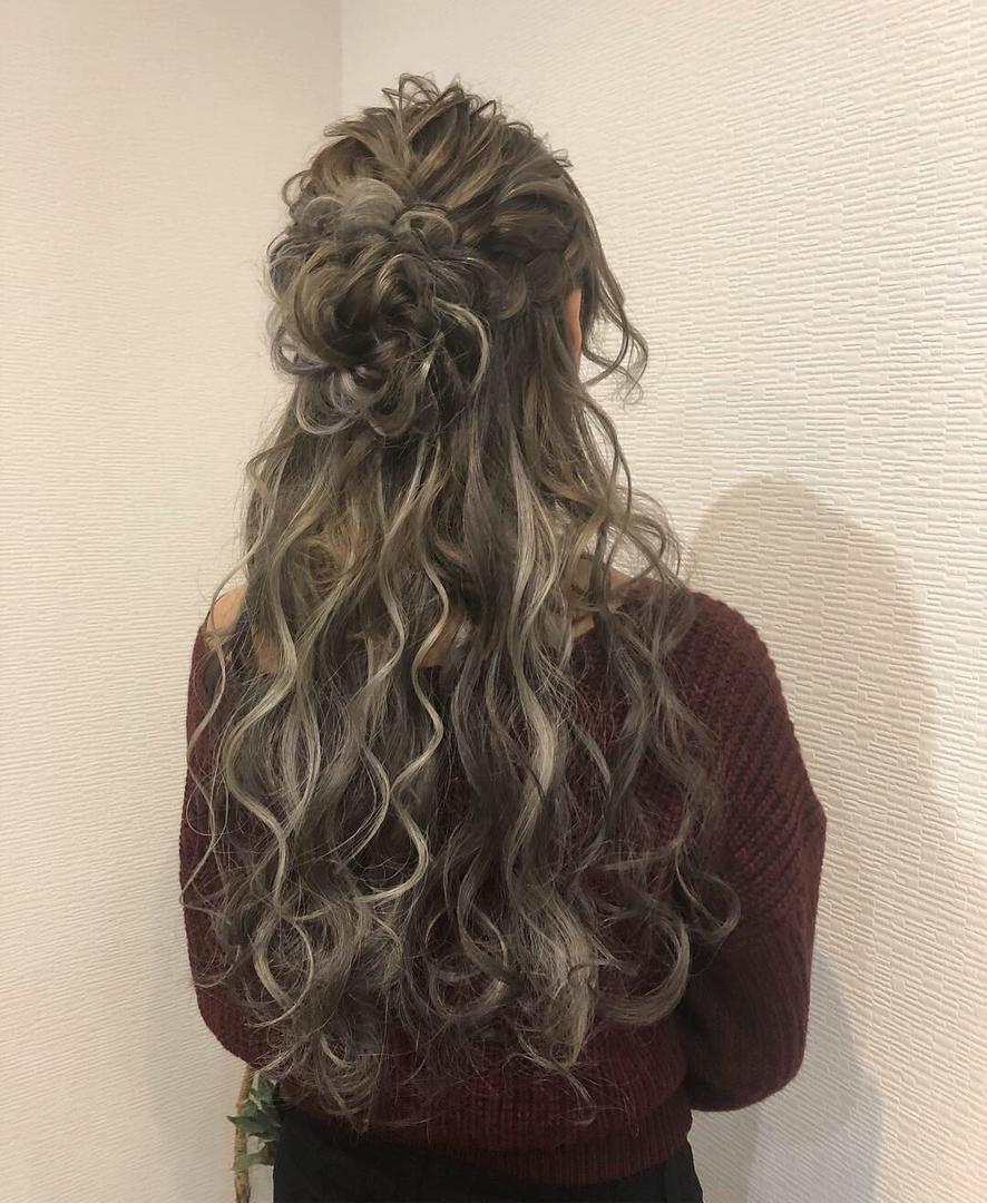 平原さんのヘアスタイルの写真。テーマは『宮崎市ヘアセット、宮崎市、ヘアセット専門店、セットサロン、ヘアセット、ヘアアレンジ、ハーフアップ、お花ヘア、ブライダルヘア、編み込みアレンジ、結婚式ヘア、編み込みヘア、宮崎、hair、hairset、宮崎セット、hairarrange、宮崎美容室、宮崎市STELLA、宮崎市セットサロン、編み込み、宮崎市成人式、宮崎県、ハーフアップアレンジ、宮崎市セット、アレンジヘア、宮崎市ステラ、宮崎ヘアセット、宮崎市結婚式』