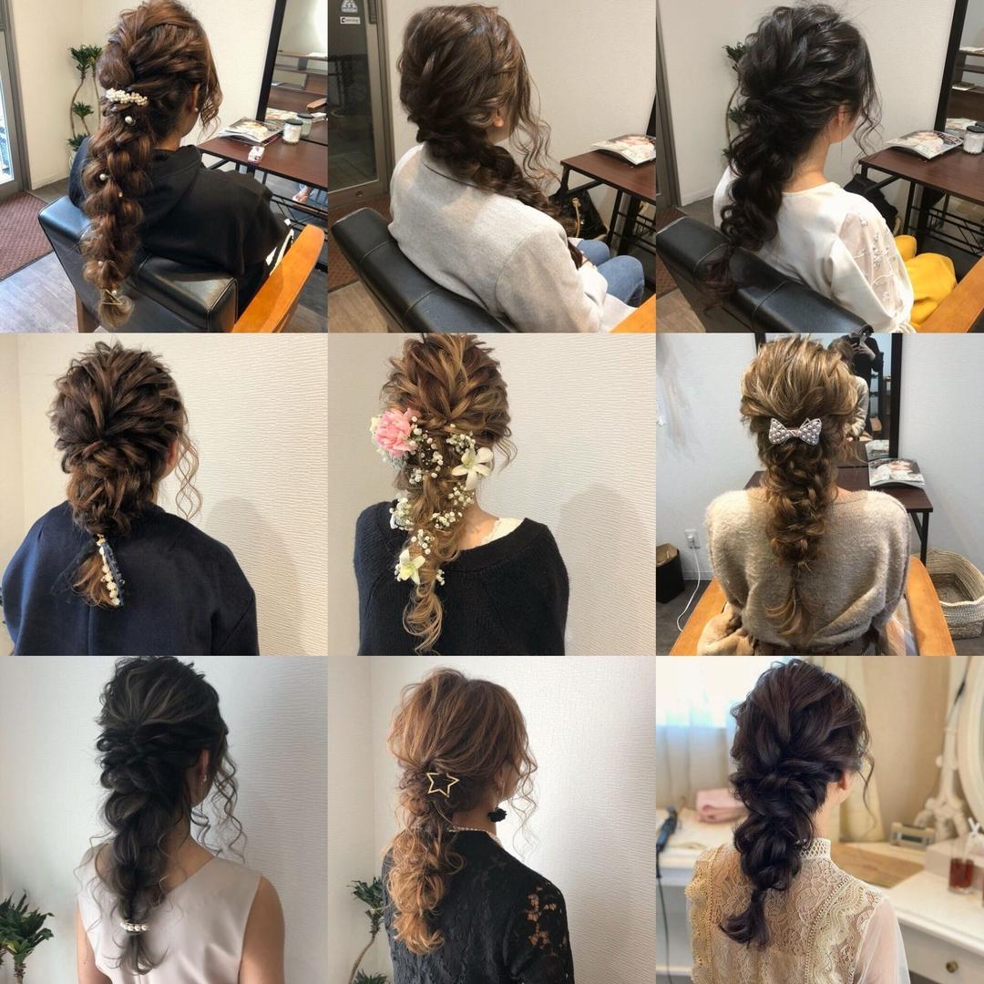 平原さんのヘアスタイルの写真。テーマは『宮崎市ヘアセット、宮崎市、ヘアセット専門店、セットサロン、ヘアセット、ヘアアレンジ、ハーフアップ、ねじりアレンジ、ブライダルヘア、編み込みアレンジ、結婚式ヘアアレンジ、結婚式ヘア、編み込みヘア、宮崎、hair、hairset、宮崎セット、hairarrange、宮崎美容室、宮崎市STELLA、宮崎市セットサロン、編み込み、宮崎市成人式、宮崎県、編みおろし、宮崎市セット、お呼ばれヘア、宮崎市ステラ、宮崎ヘアセット、宮崎市結婚式』