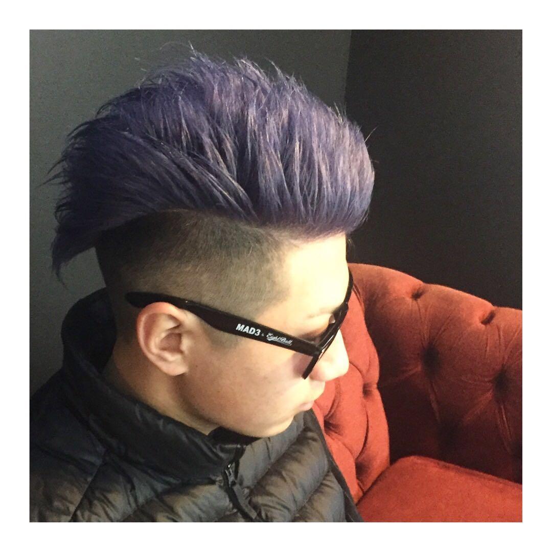 バーバースピークイージーさんのヘアスタイルの写真。テーマは『金沢バーバー、金沢市バーバー、金沢市、スキンフェードカット、金沢駅周辺、金沢市理容室、金沢市床屋、金沢市メンズカット、金沢市フェードカット、金沢市バーバースタイル、金沢市夜遅くまで営業、金沢市barber、金沢市barbershop、金沢バーバースタイル、金沢市バーバーショップスピークイージー、金沢市ポマード、金沢市スキンフェード』