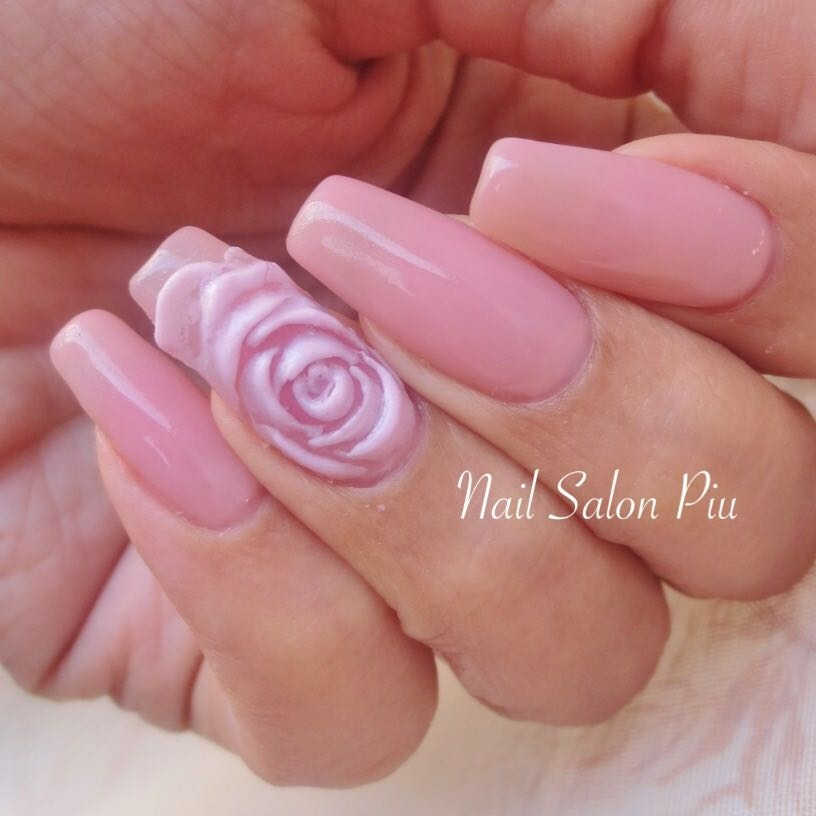 Nail Salon Piuさんの写真。テーマは『ピンクネイル、シンプルネイル、セルフネイル』