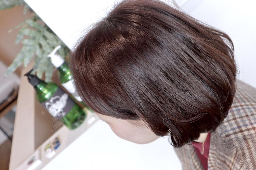 本吉 俊行さんのヘアスタイルの写真。テーマは『ボブ』