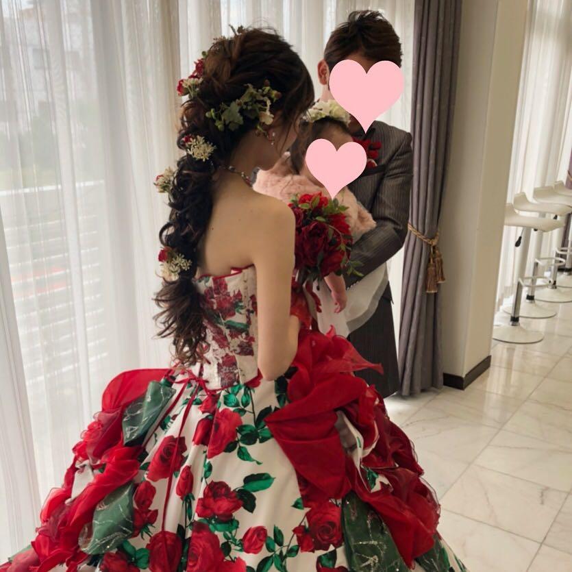 平原さんのヘアスタイルの写真。テーマは『宮崎市ヘアセット、宮崎市、ヘアセット専門店、セットサロン、ヘアセット、ヘアアレンジ、カラードレスヘア、編みおろしアレンジ、編みおろし、宮崎ウェディング、ブライダルヘア、前撮りロケーション、結婚式ヘアアレンジ、結婚式ヘア、結婚式前撮り、前撮りヘア、結婚式髪型、宮崎、hair、hairset、hairstyle、hairarrange、宮崎県、宮崎市STELLA、宮崎市ステラ、宮崎市セット、前撮り、編みおろしヘア、フォトウェディング宮崎、ラプンツェル、ラプンツェルヘア』