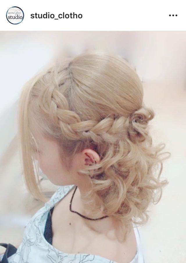 ヒロ(studio-clotho)さんのヘアスタイルの写真。テーマは『京都、祇園、kyoto、セットサロン、京都セットサロン、studioclotho、スタジオクロト、ヒロstudio、プライベートサロン、ヘアアレンジ、ヘアメイク、アーティスト、美容師、ファッション、モデル、カメラ、ナチュラル、ルーズ、エアリー、かわいい、おしゃれ、おしゃれさんと繋がりたい、編み込み、ふわふわ、ハーフアップ、ブライダル、結婚式、イベント、パーティ、卒業式』