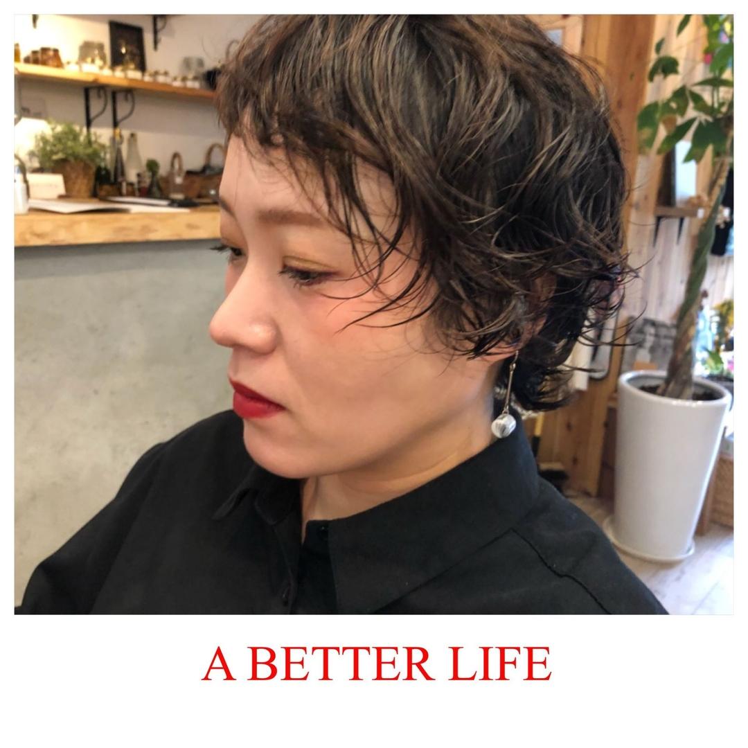 藤枝晃也さんのヘアスタイルの写真。テーマは『ショート、ヘア』
