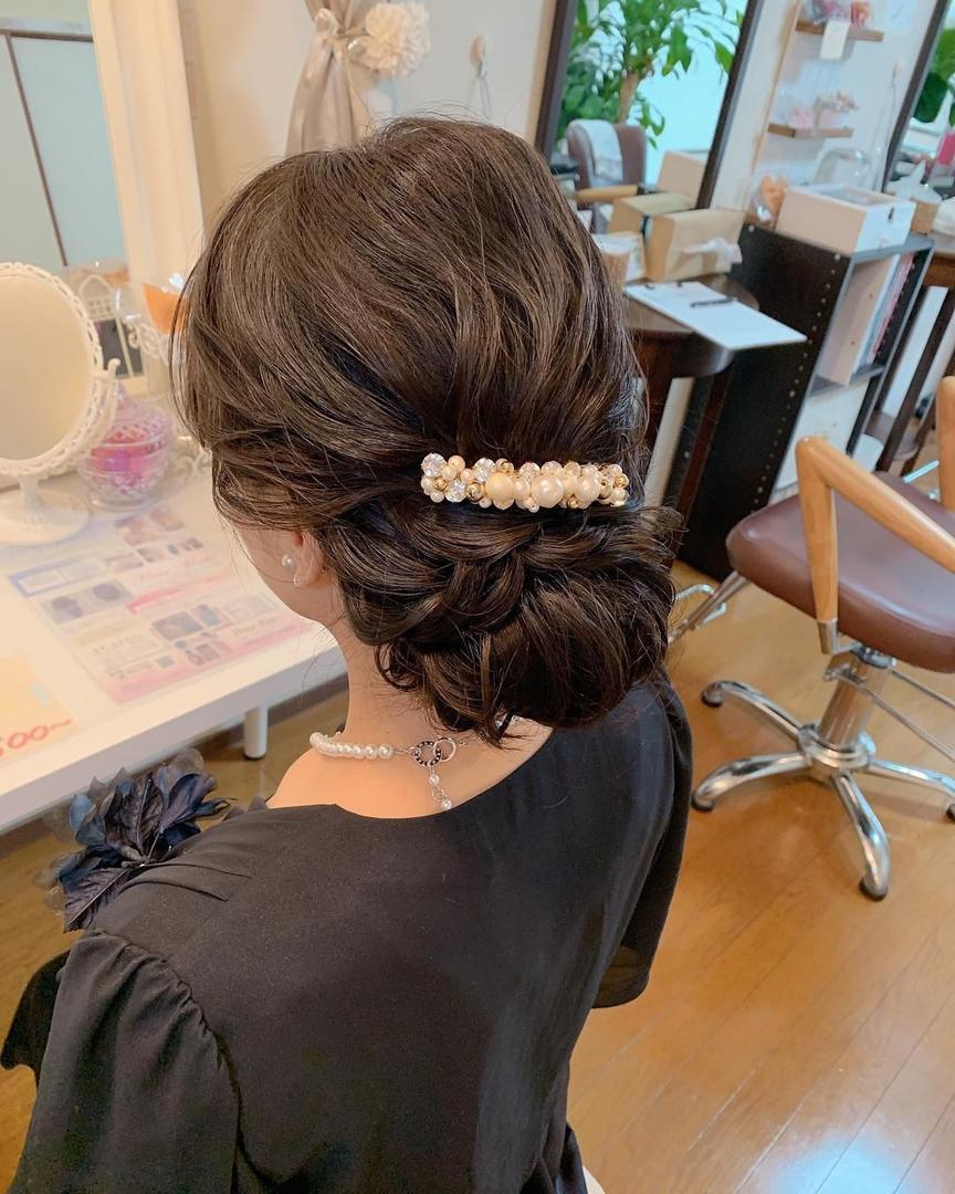 Moriyama  Mamiさんの写真。テーマは『ボブアレンジ、ボブヘアアレンジ、ミディアム、ミディアムアレンジ、大人スタイル、着物女子、福岡ヘアセット、天神、ヘアアレンジ、ヘアセット、アップスタイル、Threekeys、スリーキーズ、着物、福岡ヘアサロン、ブライダル、結婚式ヘアアレンジ、ブライダルヘア、花嫁、着付け、着物ヘア、和装ヘア、プレ花嫁、ヘアセット専門店、和装ヘアアレンジ、オトナ女子、着物レンタル、前撮り、結婚式お呼ばれヘア、早朝ヘアセット』