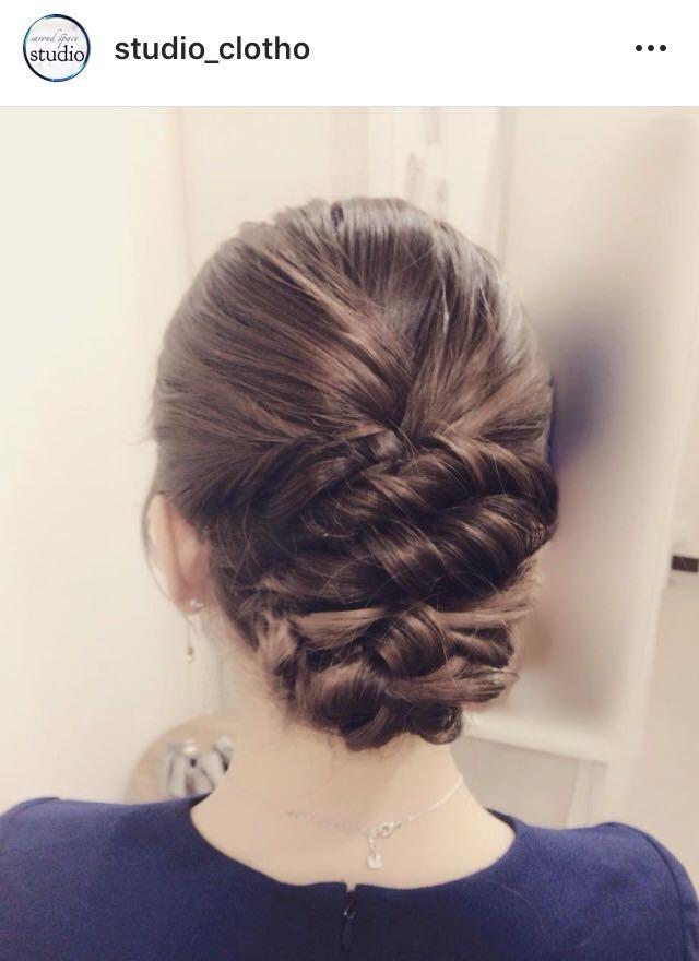 ヒロ(studio-clotho)さんのヘアスタイルの写真。テーマは『京都、祇園、kyoto、セットサロン、京都セットサロン、studioclotho、スタジオクロト、ヒロstudio、ヘアアレンジ、ヘアメイク、アーティスト、美容師、ファッション、モデル、カメラ、ナチュラル、ルーズ、エアリー、かわいい、おしゃれ、おしゃれさんと繋がりたい、アップスタイル、ブライダル、結婚式、イベント、パーティ、編み込み』