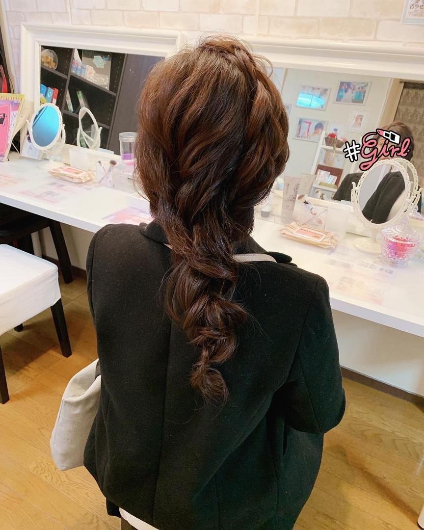 Moriyama  Mamiさんの写真。テーマは『大人スタイル、ロングヘアアレンジ、福岡ヘアセット、天神、ヘアアレンジ、ヘアセット、アップスタイル、Threekeys、スリーキーズ、着物、福岡ヘアサロン、ブライダル、結婚式ヘアアレンジ、ブライダルヘア、花嫁、着付け、着物ヘア、和装ヘア、プレ花嫁、ヘアセット専門店、和装ヘアアレンジ、女子会、オトナ女子、着物レンタル、前撮り、結婚式お呼ばれヘア、早朝ヘアセット、編みおろし』